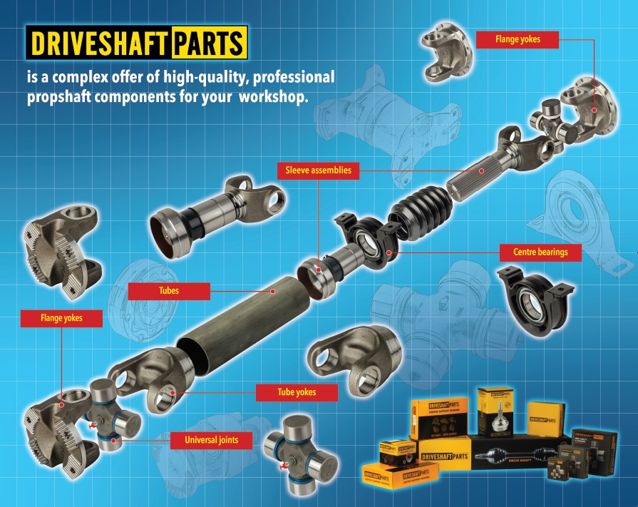 Driveshaft Parts waly napedowe